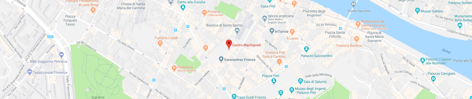 Map of Centro Machiavelli