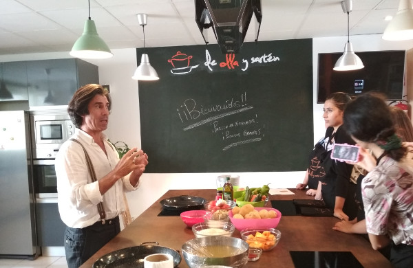 Spanish cooking class, TANDEM Madrid